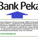 Aktualny rachunek bankowy